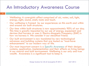 EMF An Introductory Awareness Course Slide