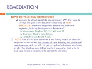 EMF Remediation Slide