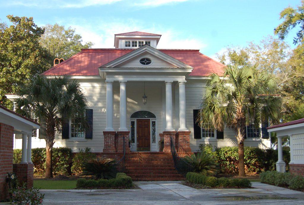 Front Entrance Southern Coastal Residential Design