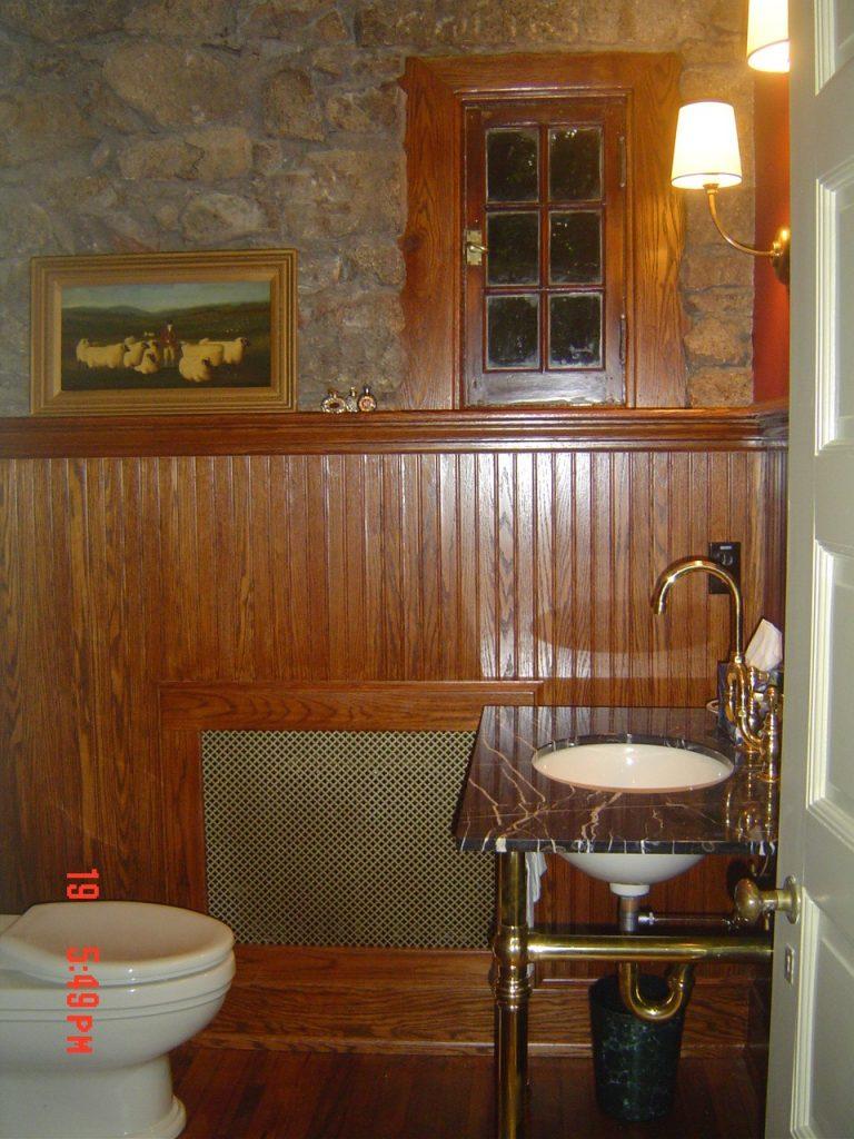 Vanity sink design