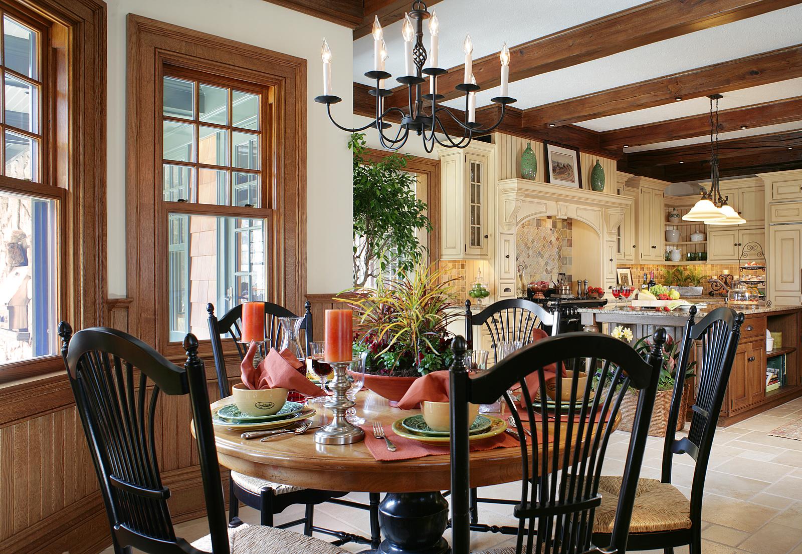 Kitchen Table Interior Design Morristown NJ