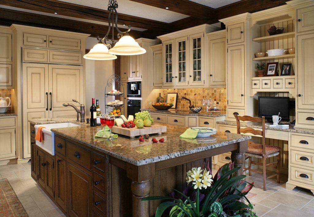 Work Station Kitchen Design Morristown NJ