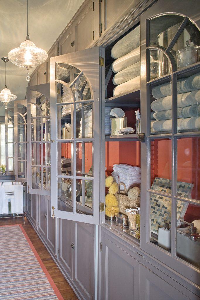 showhouse linen closet design