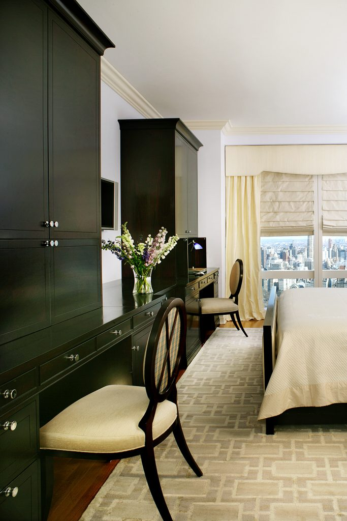 bedroom cabinet design Columbus Circle
