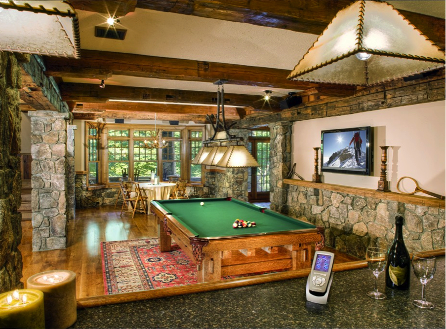 Game Room Interior Design Morristown NJ