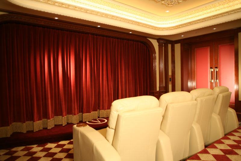 Home Theater Interior Design Colts Neck