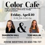 Shannon Hall on Color Cafe April 10