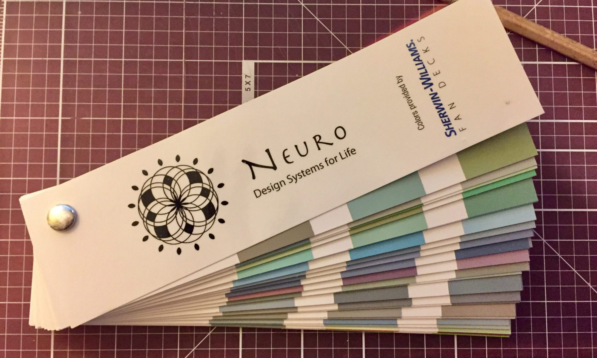 150 colors swatches provided by Sherwin Williams Curated by Shannon Hall of Design Systems for Life for Neurodiversity Clients